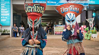 Thailand's Phi Ta Khon festival
