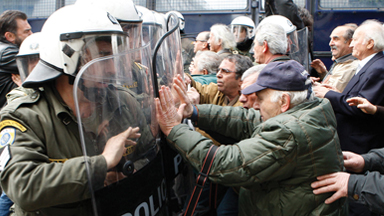 Pensioners Behind Bars