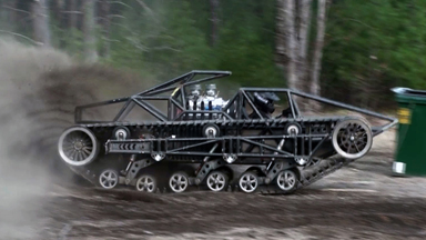 'The Peacemaker': Brothers Create New Mad Max Car