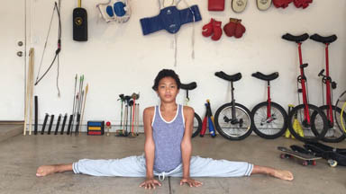 12-Year-Old Prodigy Performs Insane Stunts