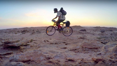Cycling The Sahara: 23-Year-Old Embarks On 1,800km Bikeride Across The Sahara Desert