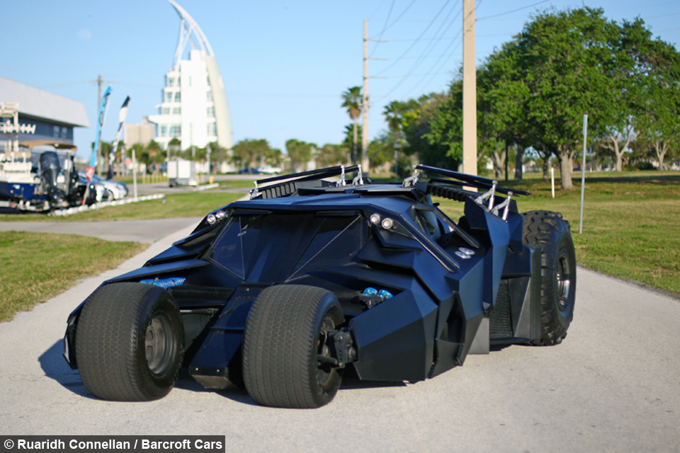 The Dark Ride: Brothers Build Batman Tumbler And Other Iconic Movie Cars