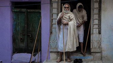 Monks Of Udaipur Walk For Miles Everyday to Practice Ancient Religion