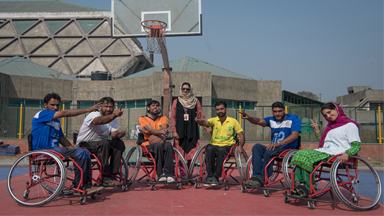Wheelchair Basketball Gives Hope To Paralyzed Men