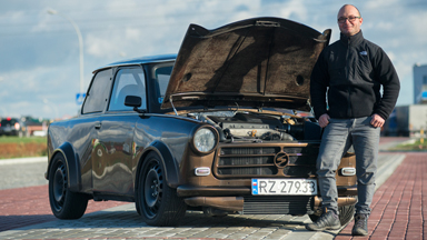 Secret Sports Car: Trabant Pimped Up With Audi TT Parts