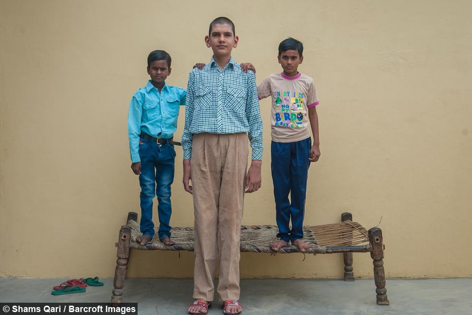 La historia del niño más alto de la India, Karan Singh 3499e9ca-e000-40ec-87ff-6f5ad4340ec4