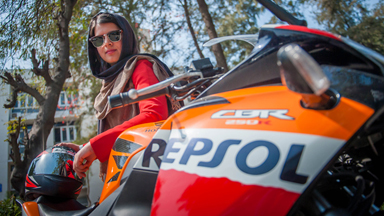 Badass Female Biker Challenges Gender Stereotypes In India