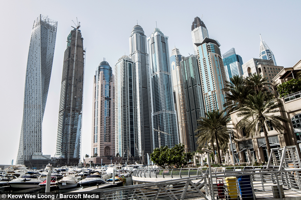 Dubai Rooftoppers Climb 425m World S Tallest Residential