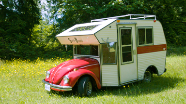 The VW Beetle That's Also an RV