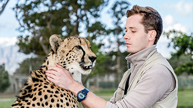 The Cheetah Man Raising Big Cats