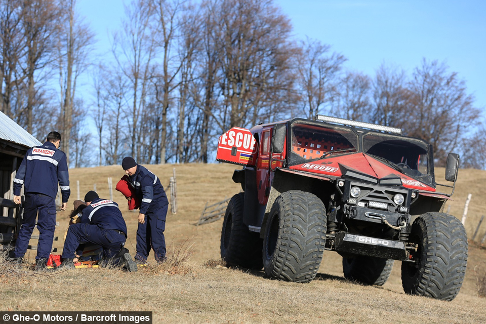 Evolution Of The Atv Extreme Rescue Vehicle Aims To
