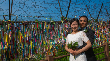 Love without borders: North Korean and South Korean find true love