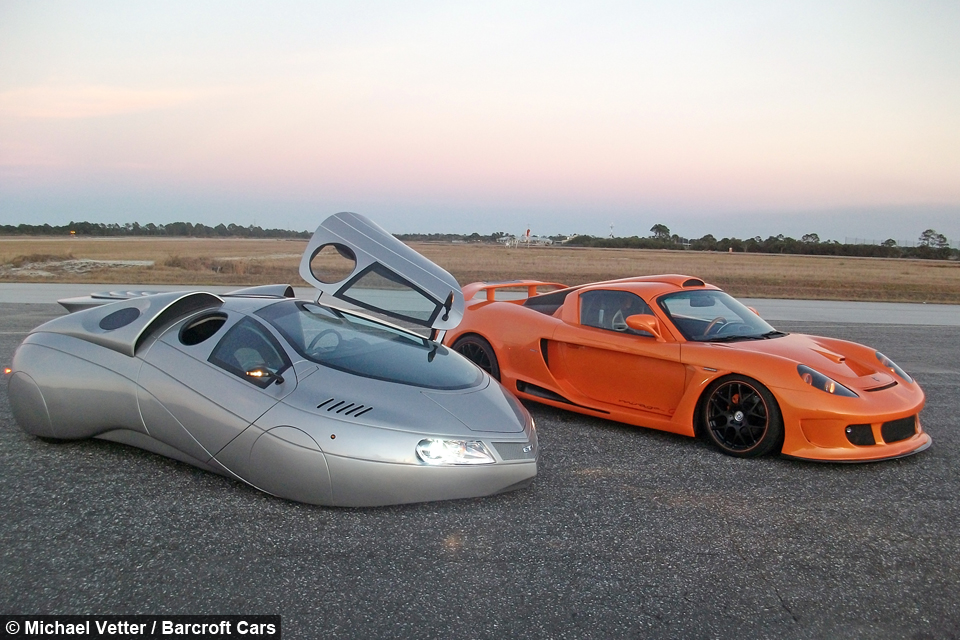 Drive Me To The Moon Man Builds Space Age Automobiles