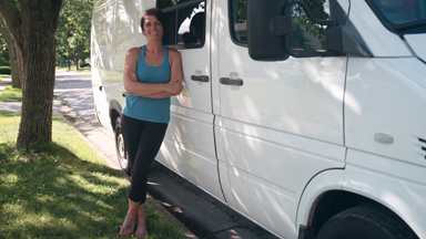 Woman Quits Expensive Rents To Live In A Van