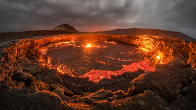 Gateway to Hell: Exploring an Active Lava Lake