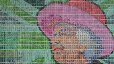 Special Delivery: Artist creates portraits using thousands of stamps
