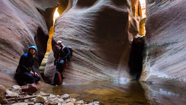 Pushing The Limits: Slot Canyoning In Utah