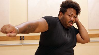 Not So Tiny Dancer: Overweight performer defies stereotypes