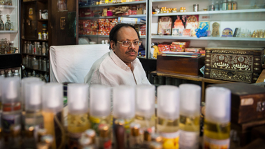 Welcome To Gulab Singh Johrimal - The Oldest Perfume Shop In Delhi