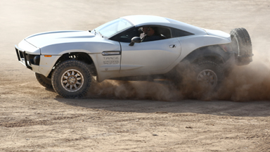 Rally Fighter: $100,000 Custom Car tops 135 mph