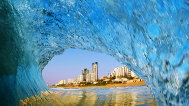 Making waves: Photographer braves the Durban surf