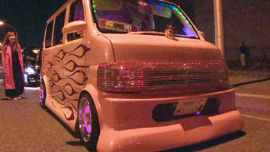 Japanese Auto Enthusiasts Customise Rides With Crystals And Cool LEDs