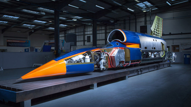 Bloodhound Set To Be The Fastest Land Vehicle Of All Time