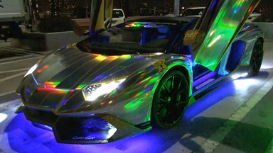 Limited Edition Lamborghini Gets LED Makeover