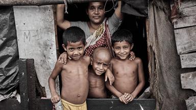 The Street Children Surviving the Slums of Dhaka