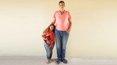Gentle Giant Finds Love With Five Foot Woman
