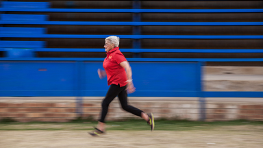 Golden girl: 85-year-old grandmother aims to strike gold at athletics championship