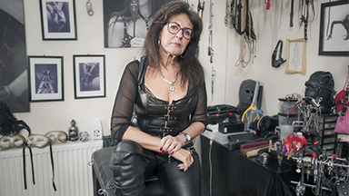 68-Year-Old Grandma Loves Being A Dominatrix