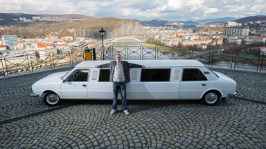 Skoda Limo: Czech Duo Turn Battered Skodas Into Stretch Limousine