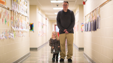 The Tiny Teacher Who's Only 3ft 3""