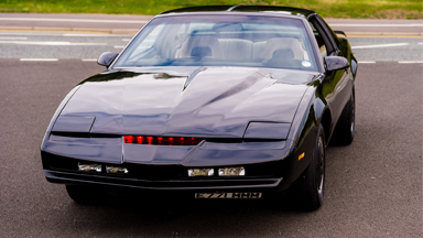Fan Transforms Run-down Pontiac Into Knight Rider Car