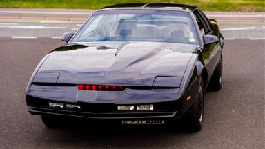 Fan Transforms Run-down Pontiac Into Knight Rider Car