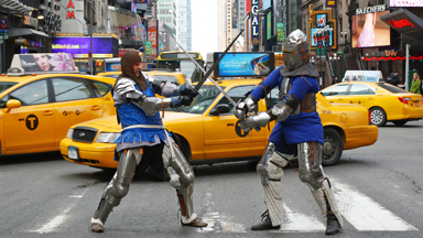 'The first rule of fight club...': Meet The Knights Of New York
