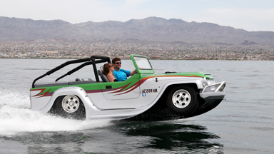 WATERCAR: Amphibious Vehicle Can Switch From Car to Boat in 15 Seconds