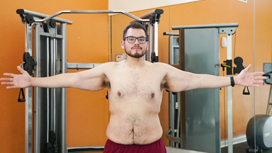 487lbs 'Comfort Eater' Loses Half His Body Weight