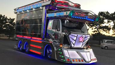 Japan's Most Insane 'Dekotora' Truck