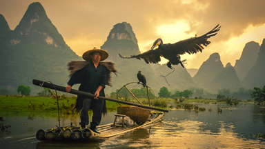 Keeping Tradition Alive: Breathtaking Pictures Show the Last Cormorant Fishermen of China