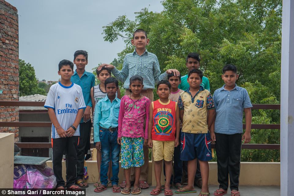 La historia del niño más alto de la India, Karan Singh 6d2539b5-f58f-421a-978c-5e1305cb2fde