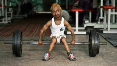 The World's Smallest Muscleman