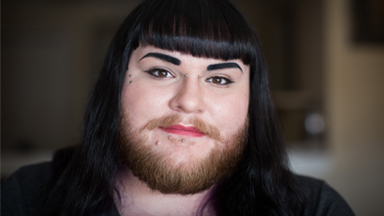 Bearded Woman Proves Hairy Isn't Scary