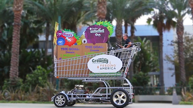 The World's Fastest Shopping Trolley