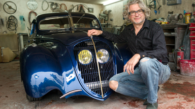 World War 2 Peugeot Converted To Art-Deco Masterpiece