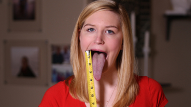 Lengthy Licker: Teen Believes She Has World's Longest Tongue