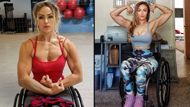 Paralysed Car Crash Survivor Becomes Fitness Model