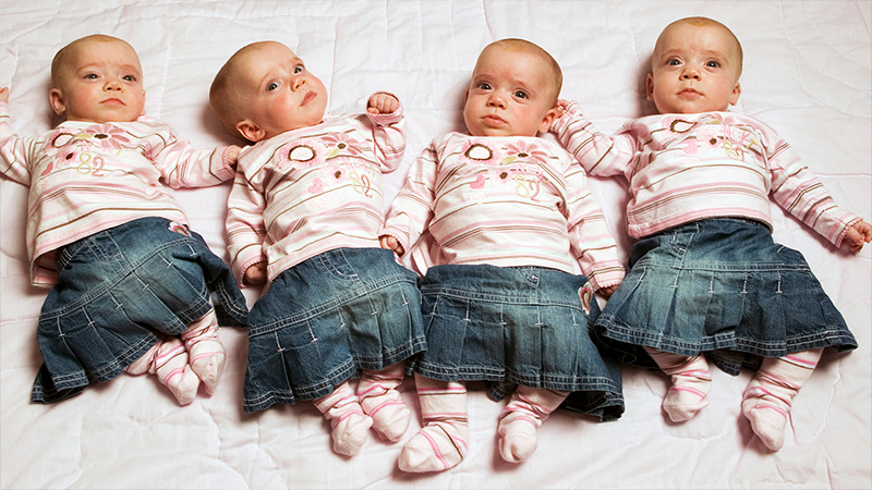 Britain's Identical Quadruplets
