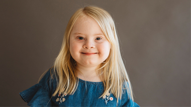 7-Year-Old Model With Down Syndrome Takes To The Catwalk